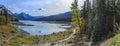 Medicine Lake Royalty Free Stock Photo