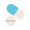 Medicine pills and capsule