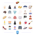 Medicine, theater, garbage and other web icon in cartoon style.atelier, tool, animal, travel icons in set collection.