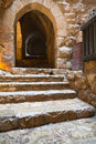 Medieval Ajlun Castle near Ajloun town, Jordan Royalty Free Stock Photo