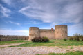 Medieval akkerman fortress near odessa in ukraine ancient at belgorod dnestrovsky Royalty Free Stock Photo
