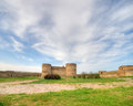 Medieval akkerman fortress near odessa in ukraine ancient at belgorod dnestrovsky Stock Image