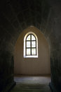 Medieval arch and window Royalty Free Stock Photo