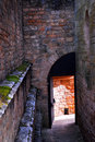 Medieval architecture Stock Image