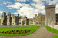 Medieval Ashford castle and gardens - Co. Mayo - I Stock Photo