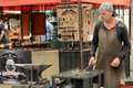 Medieval blacksmith Royalty Free Stock Photo