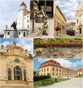 Medieval Bratislava Collage