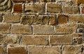 Medieval brick wall. Grunge design element Royalty Free Stock Photo