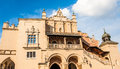 Medieval building of cloth hall in historical city of krakow poland Royalty Free Stock Photos