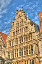 Medieval building in Gent Stock Images