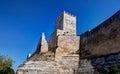 Medieval castello di Lombardia fortress, Enna, Sicily, Italy Royalty Free Stock Photo