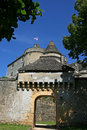 Medieval Castle of Fenelon in Perigord, France Stock Photography