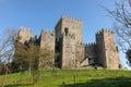 Medieval castle . Guimaraes. Portugal