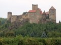 Medieval castle hardegg in niederösterreich Royalty Free Stock Photos