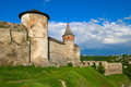 Medieval castle in Kamenetz-Podolsk Royalty Free Stock Photography