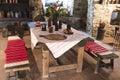 Stredoveký hrad, kuchyňa