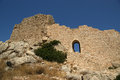 Medieval Castle of Kritinia in Rhodes Greece Royalty Free Stock Image