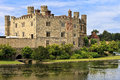 Medieval castle of Leeds, in Kent, England, United Kingdom Royalty Free Stock Photo