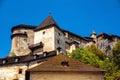 Medieval castle in Orava, Slovakia