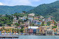 Medieval castle in Rapallo Royalty Free Stock Photo