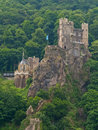 Medieval castle on the rock