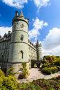 Medieval castle in Scotland Royalty Free Stock Photo