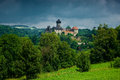Medieval castle sovinec north moravia czech republic Royalty Free Stock Photography