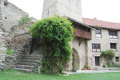 Medieval castle yard Royalty Free Stock Photo