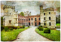 Medieval castles of Belgium - Bouchot Royalty Free Stock Photo