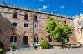 Medieval castles and residences in Tuscany Royalty Free Stock Photo