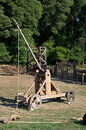 Medieval catapult Royalty Free Stock Photo