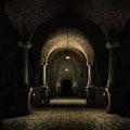 Medieval cellar