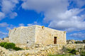 Medieval chapel the in gozo Stock Photography
