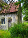 Medieval church in english village Royalty Free Stock Photo
