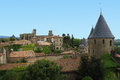 Medieval city carcassonne france Stock Photo
