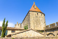 The medieval city of carcassonne south france Royalty Free Stock Photo