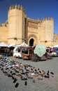 Medieval city gate in Fes Royalty Free Stock Photography