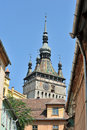 Medieval City of Sighisoara Stock Photography