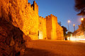 The medieval citywall Royalty Free Stock Photo