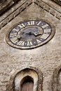 Medieval clock Stock Photography