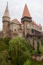 Medieval Corvin castle, Hunedoara, Romania Royalty Free Stock Photo