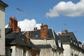 The medieval district, Tours, France Royalty Free Stock Photos