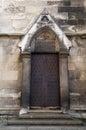 Medieval door.