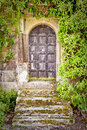 Medieval doorway Royalty Free Stock Photography