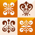 Medieval emblem ornament classic for various purpose such as pattern and background Royalty Free Stock Photos