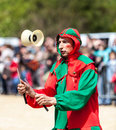 Medieval Entertainer Royalty Free Stock Images