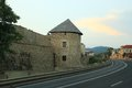 Medieval fortification in Levoca Royalty Free Stock Photo