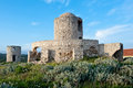 Medieval fortification tower in Bonifacio Royalty Free Stock Photo