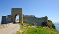 Medieval fortress on cape kaliakra black sea bulgaria Royalty Free Stock Photos