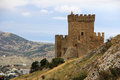 Medieval fortress in Crimea Royalty Free Stock Photo